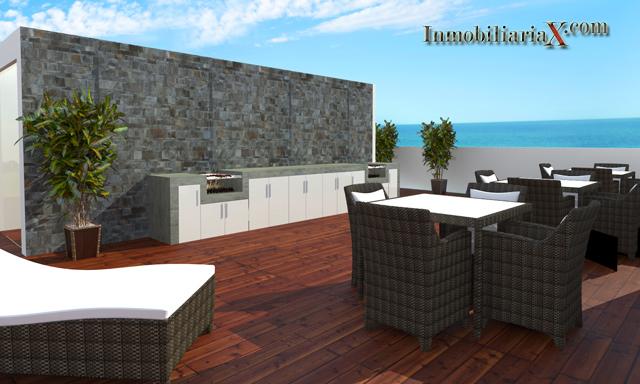 Departamentos de 2 dormitorios proyecto berlin 36 san miguel for Parrillas para casa de playa