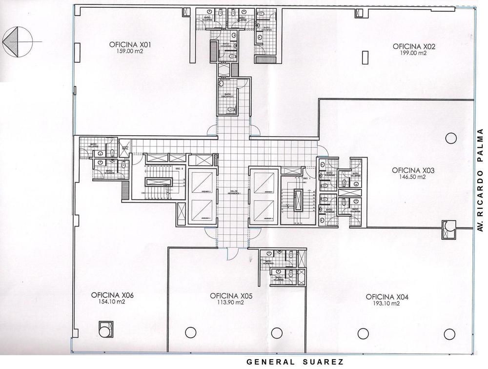 Oficinas miraflores proyecto centro empresarial oficinas for Planos de oficinas