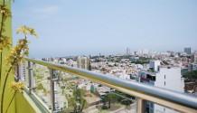 Penthouse Departamento en Magdalena con vista lateral al mar