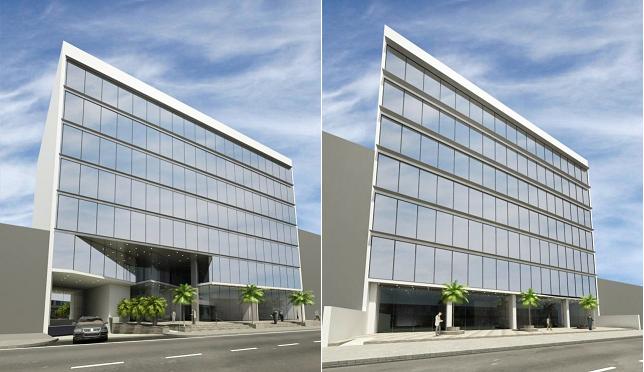Alquiler oficinas en san isidro proyecto edificio for Proyecto oficina