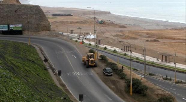 Tramo final de Costa Verde estará listo en año y medio