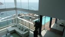 Casa frente al mar en el Club Nautico Poseidon