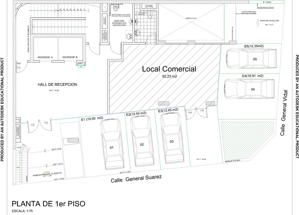 Precios y planos oficinas proyecto focus centro empresarial for Planos de oficinas administrativas
