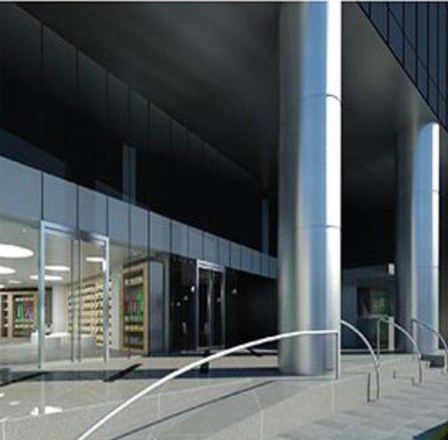 proyecto oficinas en centro empresarial reductosn Miraflores