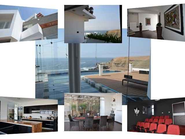 Casa de playa con cine Club Nautico Poseidon