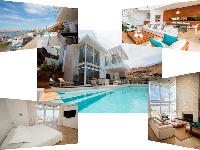 Casas de Playa en Club Nautico Poseidon