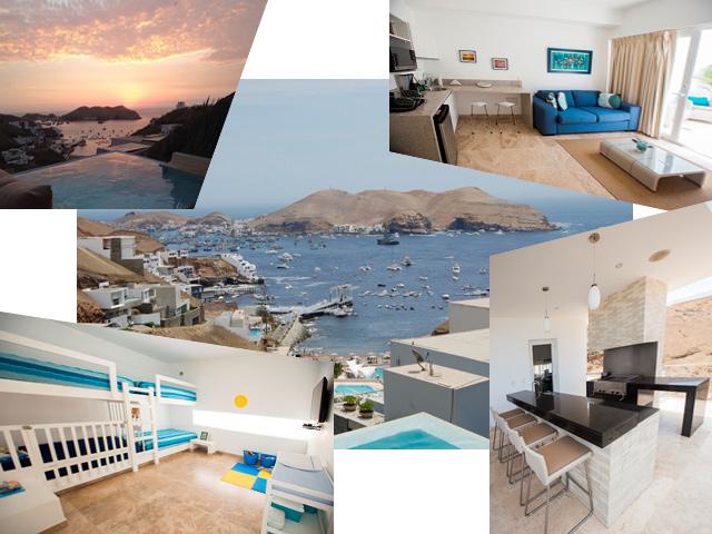 Casa de Playa en el Club Nautico Poseidon