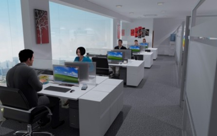 area trabajo simulacion